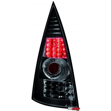 LAMPY TYLNE LED CITROEN C3 02-05 CZARNE