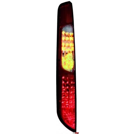 LAMPY TYLNE LED FORD FOCUS 08-10 CZERWONE/DYMIONE