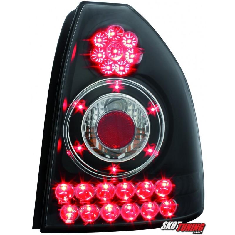 LAMPY TYLNE LED HONDA CIVIC 3D 96 00 CZARNE