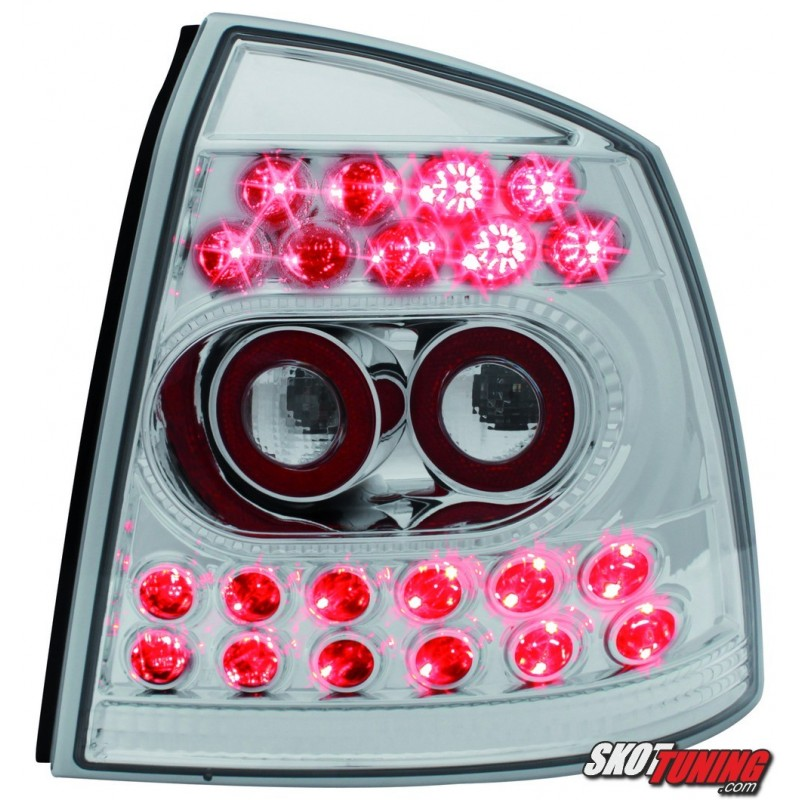 Lampy Tylne Led Opel Astra G 35 Drzwiowe 98 04 Przeźroczyste