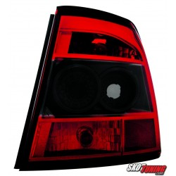 LAMPY TYLNE OPEL VECTRA B 10.95-99 CZERWONE/CZARNE