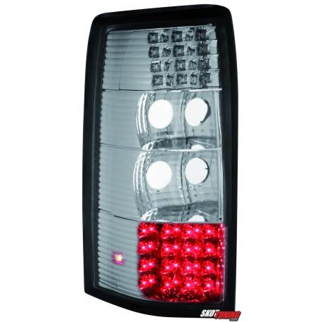 LAMPY TYLNE LED OPEL OMEGA B CARAVAN 94-99 PRZEŹROCZYSTE