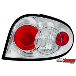 LAMPY TYLNE RENAULT MEGANE COUPE 3D 96-03 PRZEŹROCZYSTE