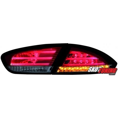 LAMPY TYLNE LED SEAT LEON 1P1 09+ CZERWONE/DYMIONE