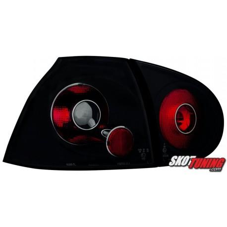 LAMPY TYLNE VW GOLF V 5 03-09 CZARNE