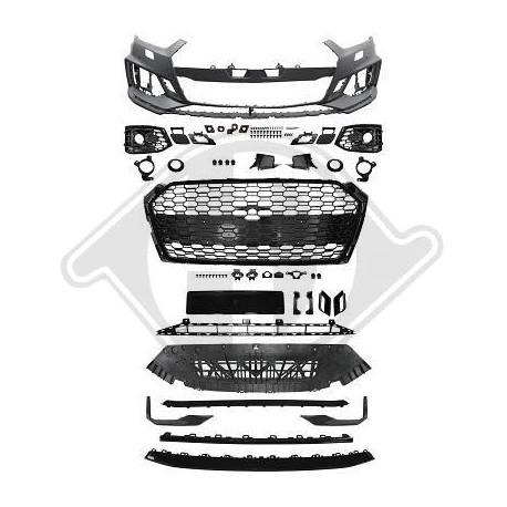 ZDERZAK PRZEDNI AUDI A5 2016+ RS5 LOOK