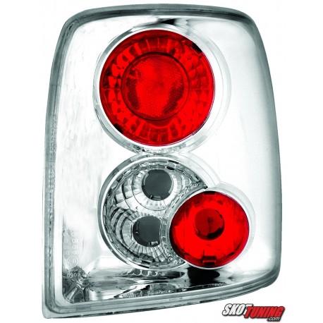 LAMPY TYLNE VW PASSAT 3B VARIANT 97-01 PRZEŹROCZYSTE