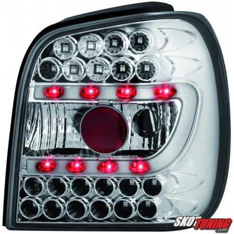 LAMPY TYLNE LED VW POLO 6N 95-97 PRZEŹROCZYSTE