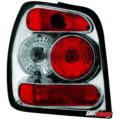 LAMPY TYLNE VW POLO 6N 95-97 PRZEŹROCZYSTE