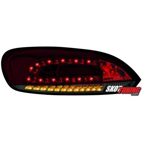 LAMPY TYLNE LED VW SCIROCCO III 08CZERWONE/DYMIONE + KIERUNKOWSKAZ LED