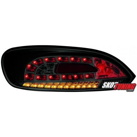 LAMPY TYLNE LED VW SCIROCCO III 08 CZARNE/DYMIONE + KIERUNKOWSKAZ LED
