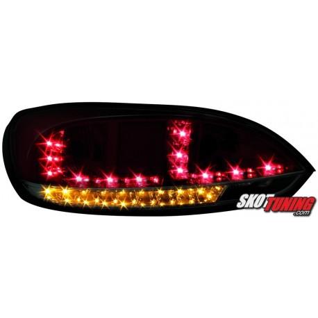 LAMPY TYLNE LED VW SCIROCCO III 08 CZERWONE/DYMIONE + KIERUNKOWSKAZ LED
