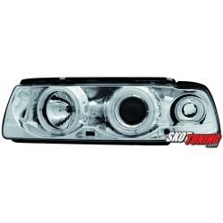 REFLEKTORY CCFL BMW E36 COUPE/CABRIO 92-98 CHROM