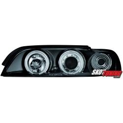 REFLEKTORY CCFL BMW 5 E39 95-00 CZARNE