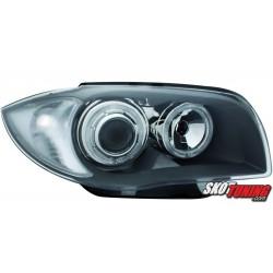 REFLEKTORY BMW 1 E87 04-07 SZARE