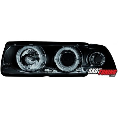 REFLEKTORY LED BMW E36 COUPÉ/CABRIO 92-98 CZARNE