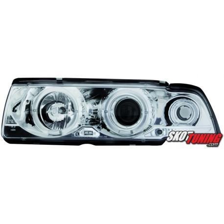REFLEKTORY LED BMW E36 SEDAN 7.92-3.98 CHROM