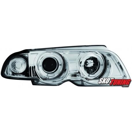 REFLEKTORY LED BMW E46 SEDAN 98-01 CHROM