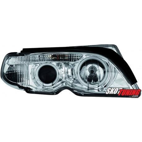 REFLEKTORY LED BMW E46 SEDAN 01-04 CHROM 7-LOOK