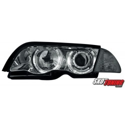 REFLEKTORY LED BMW E46 SEDAN 98-01 CZARNE
