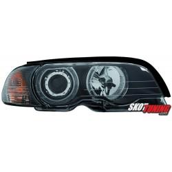 REFLEKTORY LED BMW E46 COUPE CABRIO 98-01 CZARNE