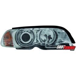 REFLEKTORY LED BMW E46 COUPE CABRIO 98-01 CHROM