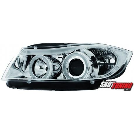 REFLEKTORY BMW 3 E90/ E91 CHROM