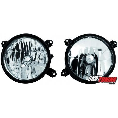 REFLEKTORY BMW E34 5 85-95/E32 7 88-94 CHROM