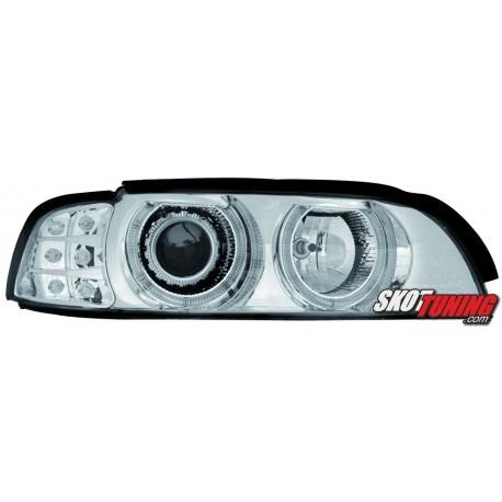 REFLEKTORY BMW E39 5 95-00 CHROM KIERUNKOWSKAZ LED