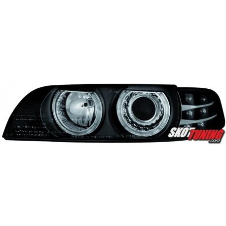 REFLEKTORY BMW E39 5 95-00 CZARNE KIERUNKOWSKAZ LED
