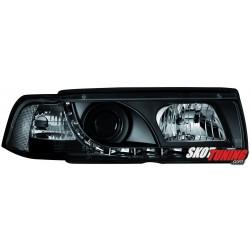 REFLEKTORY BMW E36 SEDAN 92-98 CZARNE