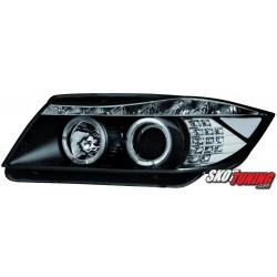 REFLEKTORY BMW E90 05+ LED CZARNE