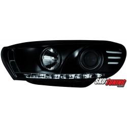REFLEKTORY VW SCIROCCO III 08+ CZARNE