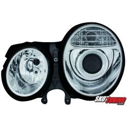 REFLEKTORY MERCEDES BENZ W210 E-KLASA 99-01 CHROM W211-LOOK