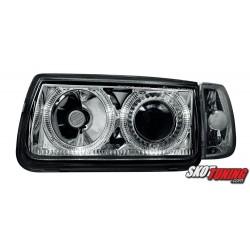 REFLEKTORY VW POLO 6N 95-98 CHROM RINGI