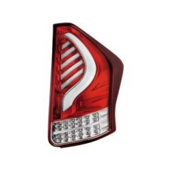 LAMPY TYLNE LED TOYOTA PRIUS III 09+ CZERWONE / PRZEŹROCZYSTE