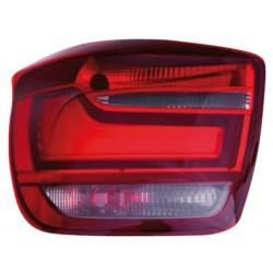 LAMPY TYLNE LED BMW 1 F20 11+ CZERWONE / PRZEŹROCZYSTE