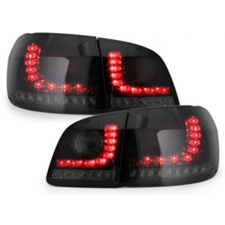 LAMPY TYLNE LITEC VW GOLF V/VI + PLUS 05+ CZARNE/DYMIONE