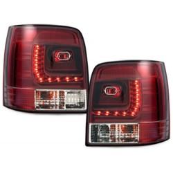 LAMPY TYLNE LITEC VW PASSAT 3B/G 97-05 CZERWONE / PRZEŹROCZYSTE