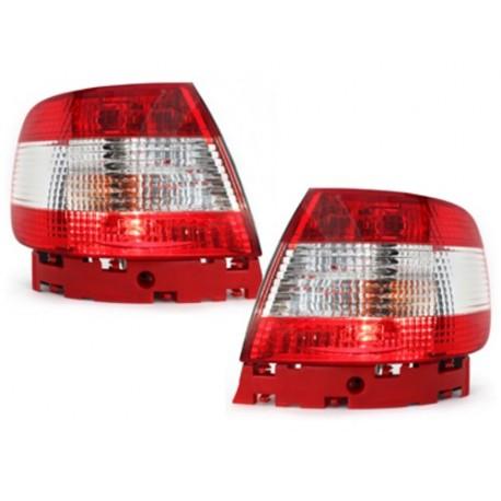 LAMPY TYLNE AUDI A4 B5 SEDAN 95-10.00 CZERWONE/PRZEŹROCZYSTE