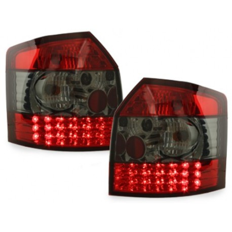 LAMPY TYLNE LED AUDI A4 8E AVANT 01-04 CZERWONE / DYMIONE
