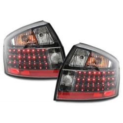 LAMPY TYLNE LED AUDI A4 8E SEDAN 01-04 CZARNE