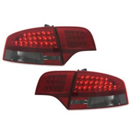 LAMPY TYLNE LED AUDI A4 SEDAN B7 04-08 CZERWONE / DYMIONE