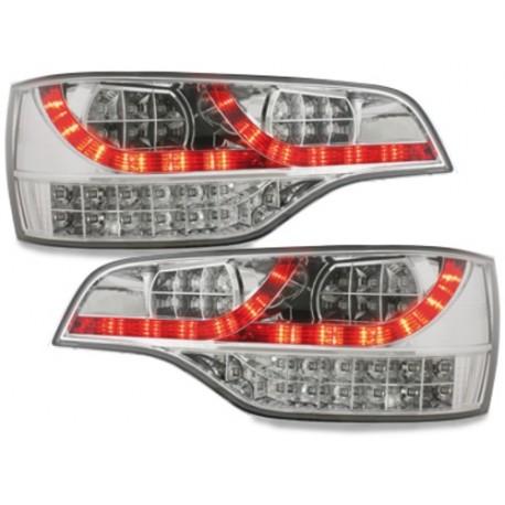 LAMPY TYLNE LED AUDI Q7 05-09 PRZEŹROCZYSTE