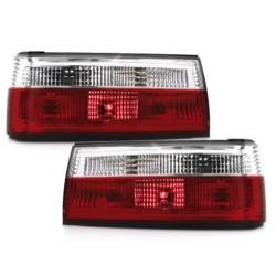 LAMPY TYLNE BMW E30 09.87-10.90 CZERWONE / PRZEŹROCZYSTE