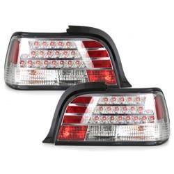 LAMPY TYLNE LED BMW E36 COUPE 92-98 PRZEŹROCZYSTE