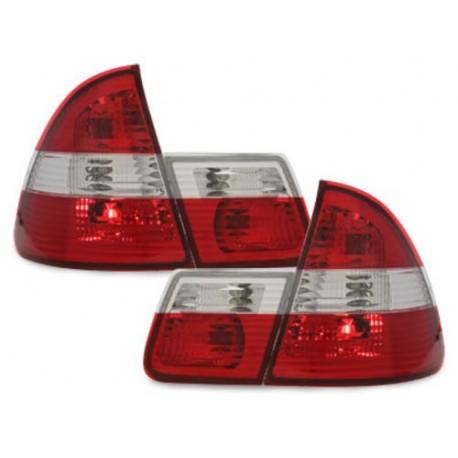 LAMPY TYLNE BMW E46 TOURING 01-05 CZERWONE / PRZEŹROCZYSTE