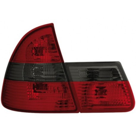LAMPY TYLNE BMW E46 TOURING KOMBI 01-05 CZERWONE / DYMIONE