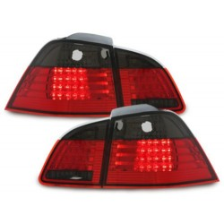 LAMPY TYLNE LED BMW 5 E61 TOURING 04-07 CZERWONE / DYMIONE