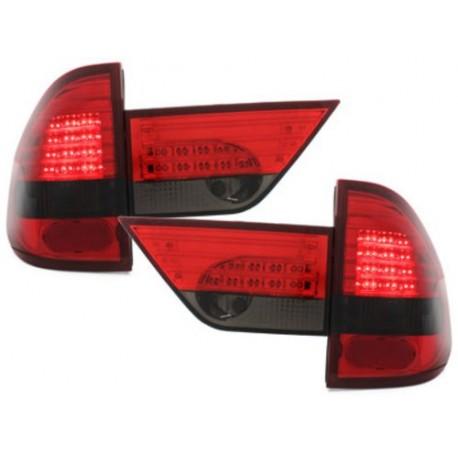 LAMPY TYLNE LED BMW E83 X3 04-06 CZERWONE / DYMIONE